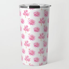 Rose Pop Pattern Travel Mug