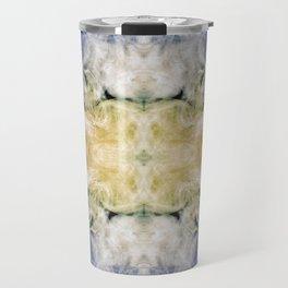 237 - abstract smoke design Travel Mug