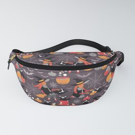 Enchanted Vintage Halloween Spell Fanny Pack