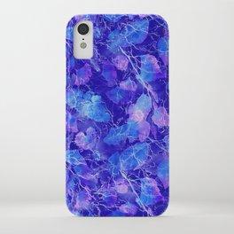 Frozen Leaves 31 iPhone Case