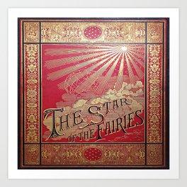 The Star of the Fairies Book Art Print