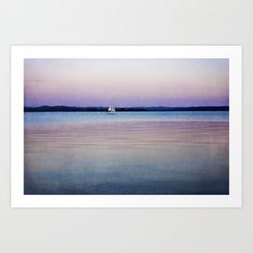 Pastel Water Art Print