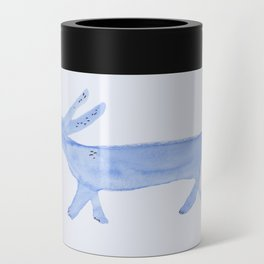 The Blue Dachshund Can Cooler