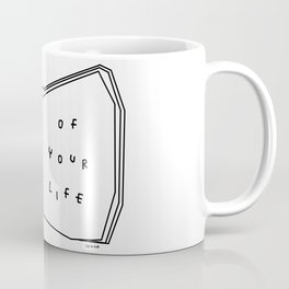 Enjoy Every Page Of Your Life - book illustration inspirational quote Coffee Mug