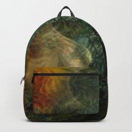 """""""The Inner Forest (caramel pattern)"""" Backpack"""