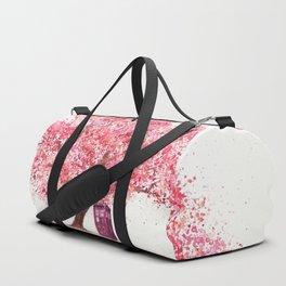Tardis Tree Art Blossom Duffle Bag