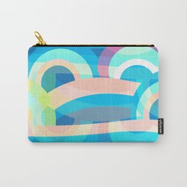 Marine abstraction Carry-All Pouch