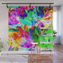 experimental art Wall Mural