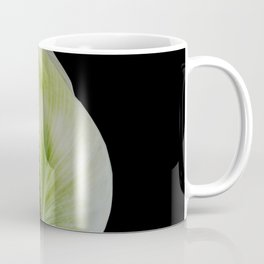 Peace Lily on Black #1 #floral #decor #art #society6 Coffee Mug