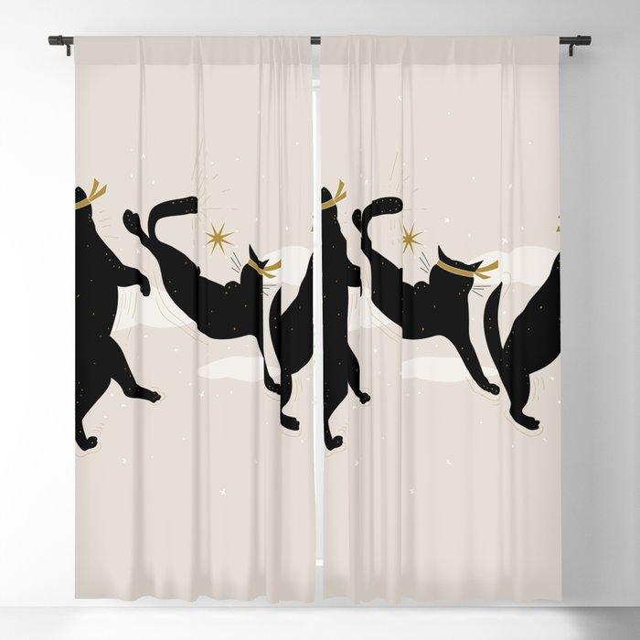 Ninja Cats I. Blackout Curtain