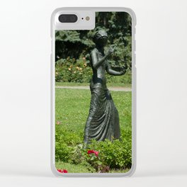 The First Jewels Clear iPhone Case