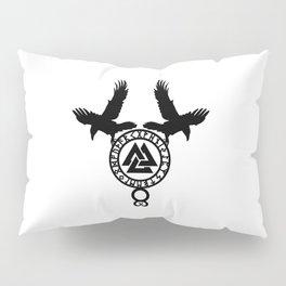 Raven - Valknut Pillow Sham