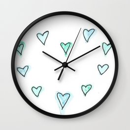 Love (Mk 12, 28-31) Wall Clock