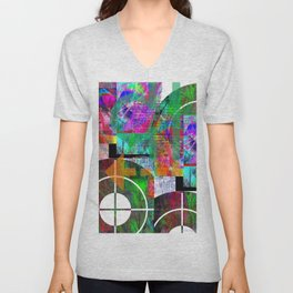 Abstracta No.2 Unisex V-Neck