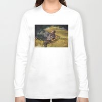 cyrilliart Long Sleeve T-shirts featuring Dragon Series: Niall by Cyrilliart