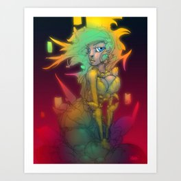 Chasma Art Print