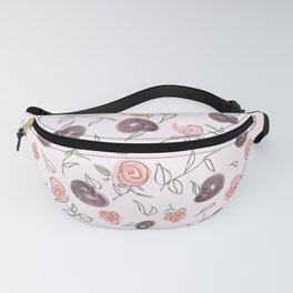 Plums N' Roses Fanny Pack