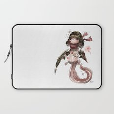 Axolotl Barbare Laptop Sleeve