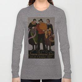 Vintage poster - Zurich Long Sleeve T-shirt