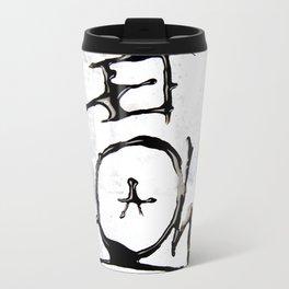 Let it Flow  Metal Travel Mug