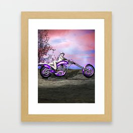 Metal And Sinew: An SWG Pinup Framed Art Print