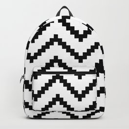 Tribal Chevron W&B Backpack