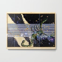 Scorpio - Uranometria Collection Metal Print