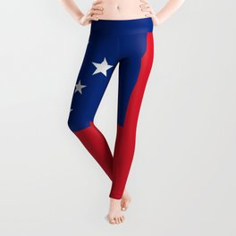 National flag of Samoa - Authentic version scale and color Leggings