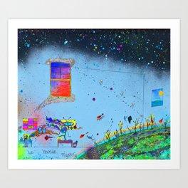 Le' Monde mystery Art Print