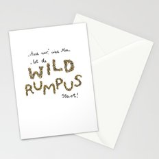 Let the wild rumpus start! Stationery Cards