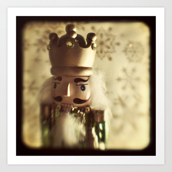 The Nutcracker King Art Print