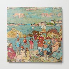 """Maurice Prendergast """"The Seashore"""" Metal Print"""