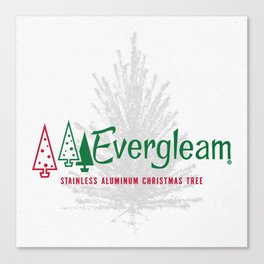 Evergleaming Canvas Print