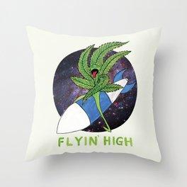 Flyin' High Throw Pillow