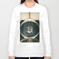 astronaut Long Sleeve T-shirts featuring astronaut by Shawn Tegtmeier