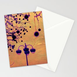 Disco Lamp Stationery Cards