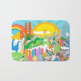 San Francisco Bath Mat