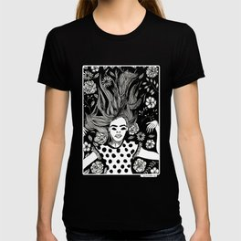 I just need a flower nap. T-shirt