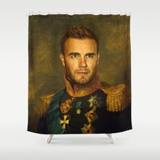 Gary Barlow - replaceface Shower Curtain