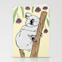 koala Stationery Cards featuring Koala by Madmi