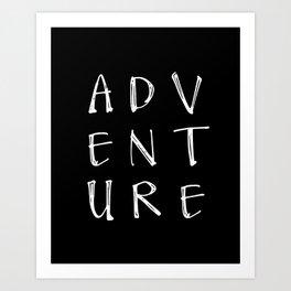 Decal Arrow, Adventure, Car Window Sticker, Vinyl Decal, Laptop Decal Art Print