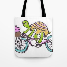 cupcake ride! Tote Bag