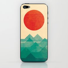 The ocean, the sea, the wave iPhone & iPod Skin
