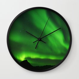The Northern Lights 07 Wall Clock