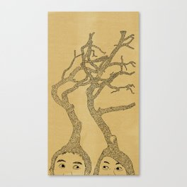 our mind Canvas Print