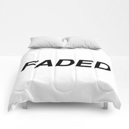 FADED Comforters