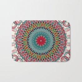 Sunflower Mandala Bath Mat