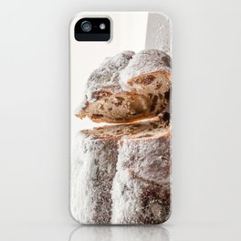 Christmas stollen iPhone Case