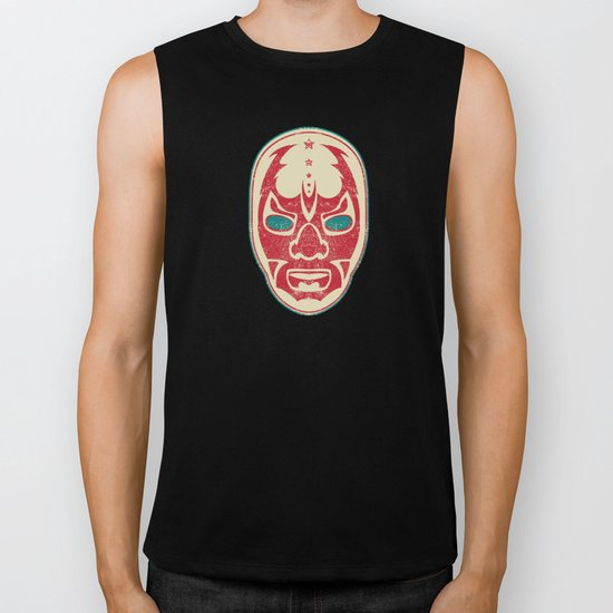 The Mysterious Mask Biker Tank