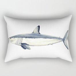 Mako shark (Isurus oxyrinchus) Rectangular Pillow